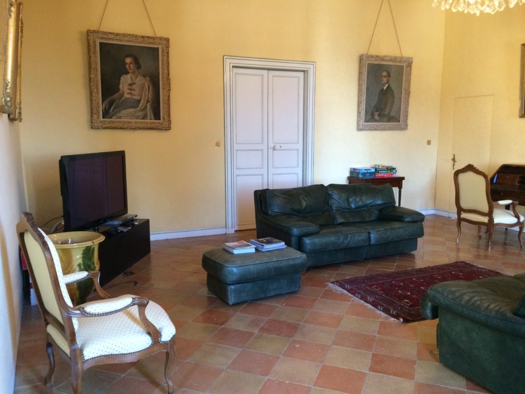 Salon de jeux château d'Issus